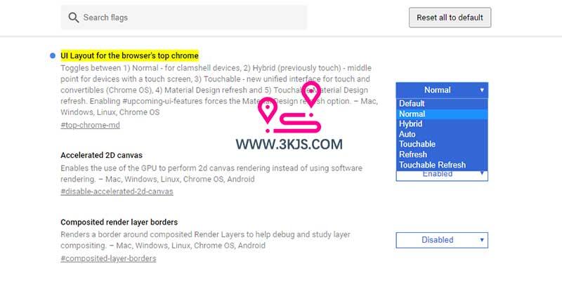 Chrome浏览器恢复原来的经典外观UI